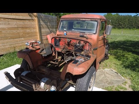 Willys Truck Take 13 : Whipped by the Willys & Viewer Mail