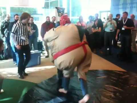 Sumo wrestling at 360iDev