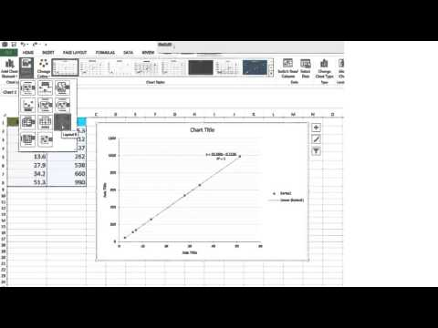 Excel scatter plot tutorial