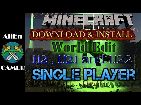✔HOW TO DOWNLOAD & INSTALL WORLD EDIT IN MINECRAFT 1.12.2(2018)