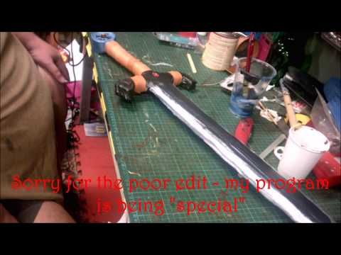 Maker challenge - Simple LARP Sword build