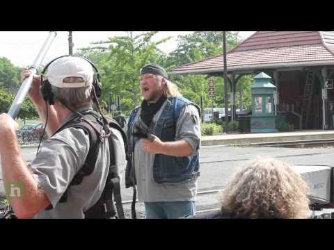 Television show American Ride films in Manassas, Virginia