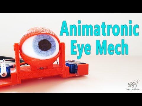 Arduino Project - Animatronic Eye Mech