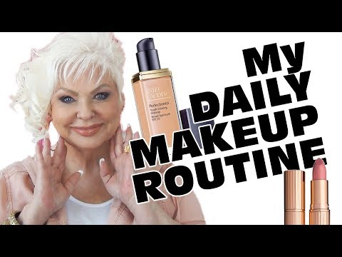 My Daily Makeup Routine / Mature Beauty / Over 40 Over 50++