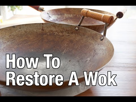 How To Restore A Wok (Updated Audio!)