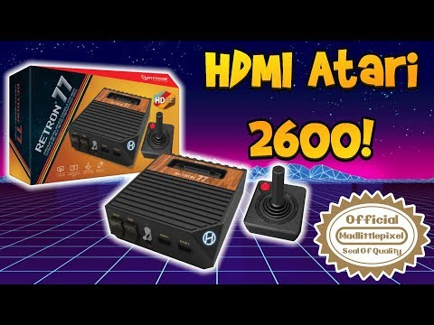 HDMI Atari 2600 Console! Forget The VCS! We Got The Retron 77! Review