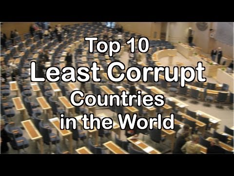 Top 10 Least Corrupt Countries in the World
