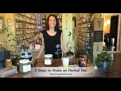 5 Steps to Make an Herbal Tea with Desert Sage Herbs