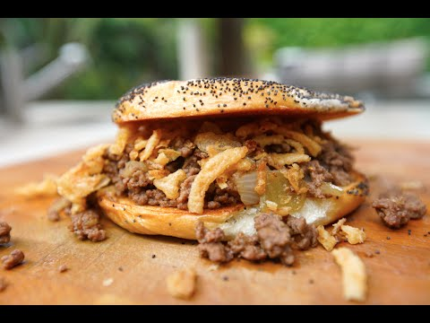 Best Loose Meat Sandwich recipe by SAM THE COOKING GUY