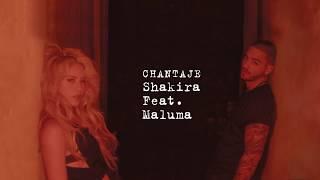 Shakira   Chantaje Audio ft  Maluma
