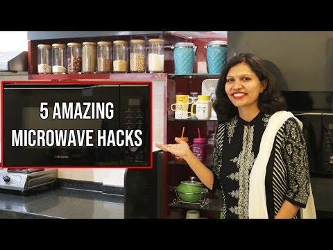 5 Amazing Microwave Food Hacks | माइक्रोवेव में बनाए झटपट नास्ता | Microwave Recipe | kabitaskitchen