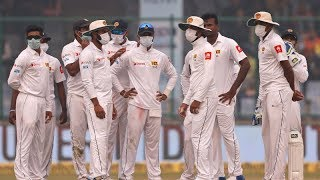 Sri Lanka cricket coach says players were vomiting because of pollution | Cricinfo | ESPN