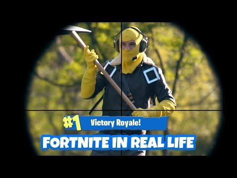 FORTNITE Battle Royal in REAL LIFE | GIACO
