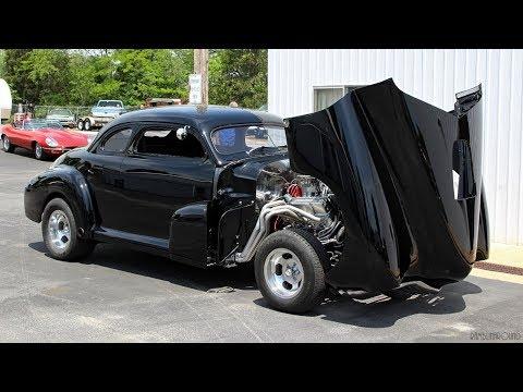 Hot Rod Chevy Burnouts