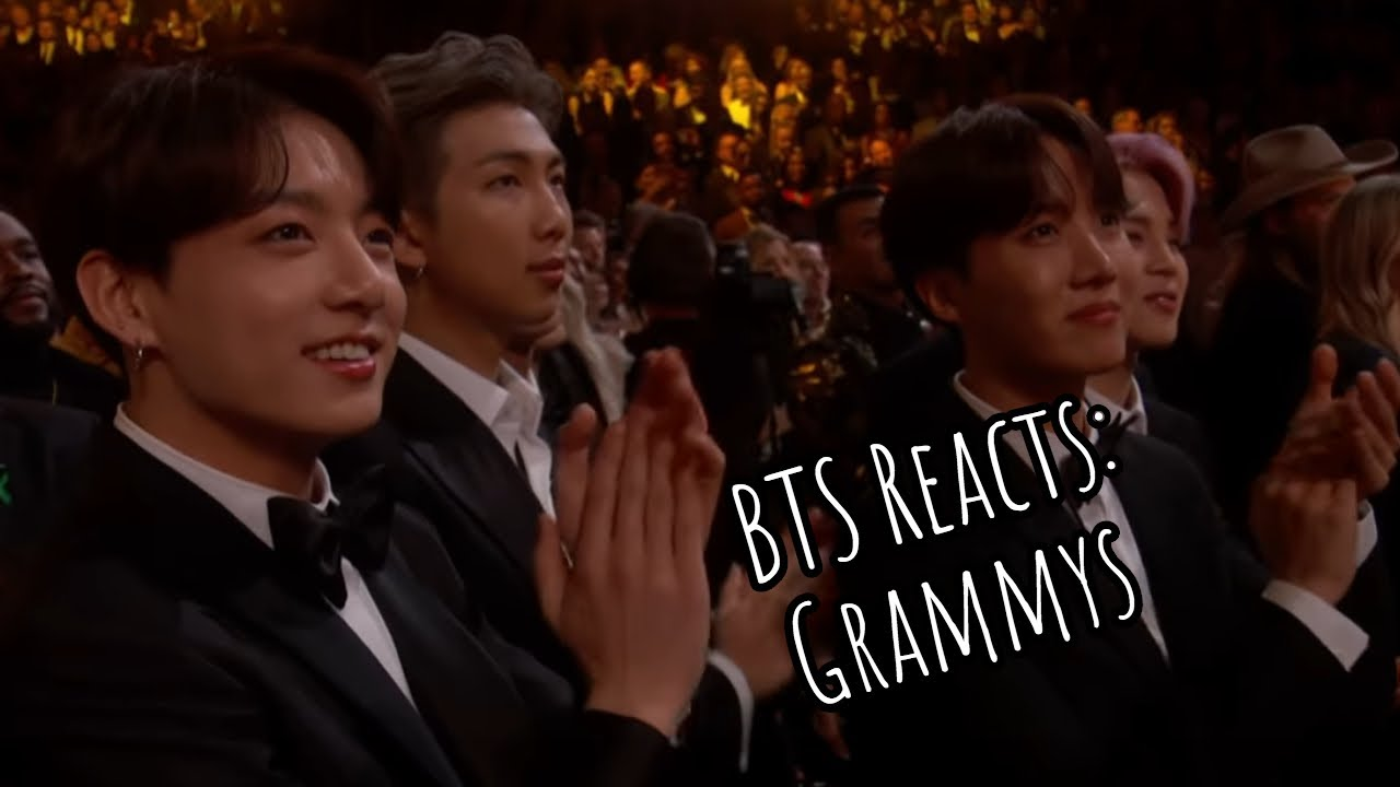 BTS Reactions at the Grammys