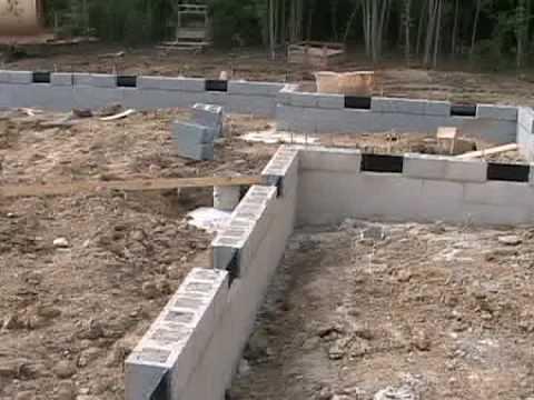 New House - Foundation Built