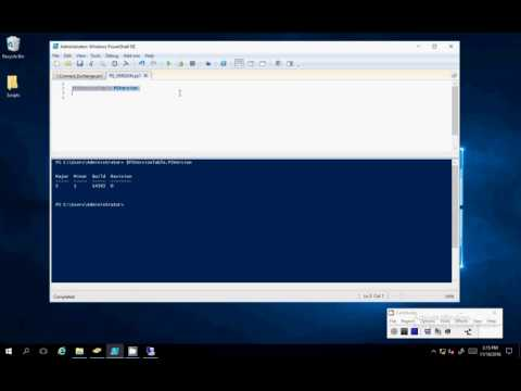 How To Check PowerShell 5.1 Version Number