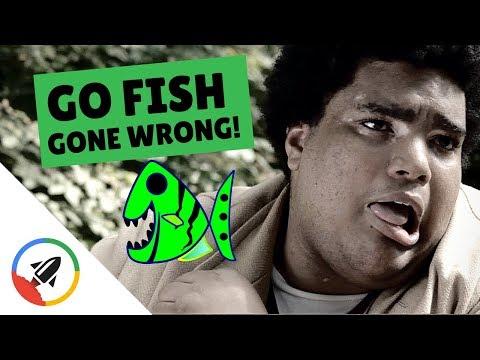 Go Fish GONE WRONG! (Dark Comedy Sketch)