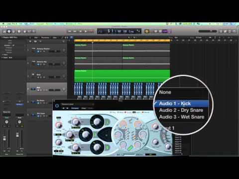 Logic Pro X - Modulate a Synth Bass with Pitch and Compression Side Chain Effect