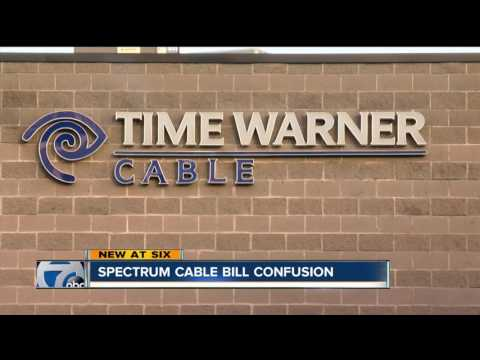 Spectrum cable bill confusion
