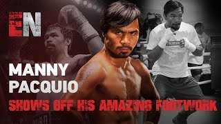 Download Manny Pacquiao - See How He Got To Have Best Footwork In Sport & You Can Train Like Manny Pacquiao Video
