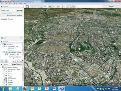 Creating Virtual Tours in Google Earth
