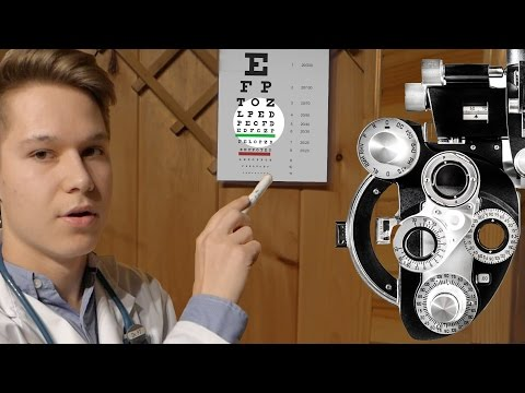 ASMR - Eye Doctor Roleplay (Optometrist) Check Up