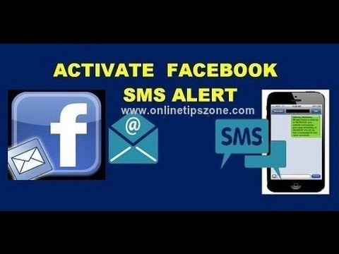 How to get fb Notifications to Mobile as Text Message