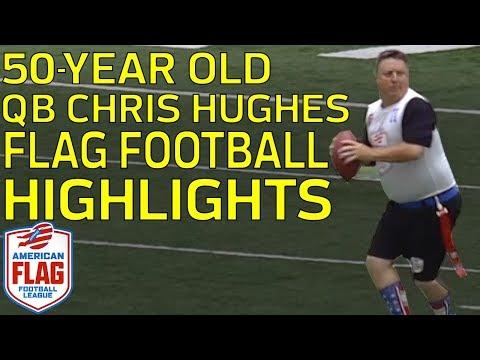 50-Year-Old QB LIGHTS UP Flag Football League (Highlights: 27/29, 369 YDs, 5 TDs) | NFL