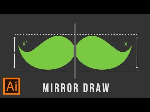 Illustrator Trick : Mirror Draw