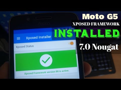 Moto G5/G5 Plus Install Official Xposed Framework On Android 7.0