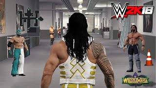 WWE 2K18 Road To Wrestlemania - THE REUNION OF THE SHIELD ft. Reigns, Lesnar (Story/Concept) Part 1