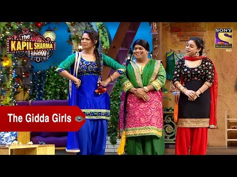 The Gidda Girls - Sarla, Lottery & Bumper - The Kapil Sharma Show