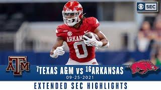 #7 Texas A&M vs #16 Arkansas: Extended Highlights | CBS Sports HQ