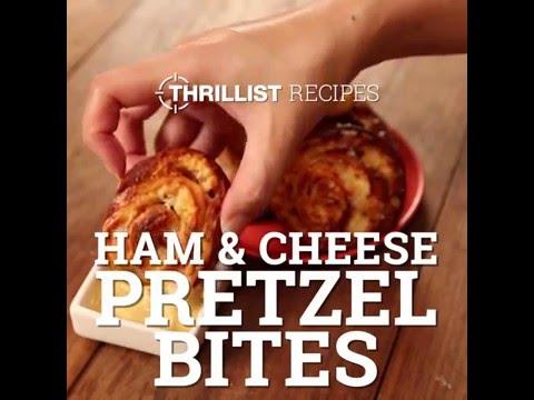 Ham & Cheese Pretzel Bites