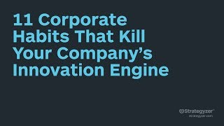 Stratchat - 11 Corporate Habits That Kill Your Company