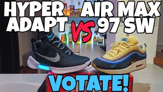 8c0608ea28 AIR MAX 1/97 SEAN WOTHERSPOON vs HYPERADAPT VOTATE !