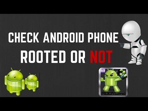 How to check if  android mobile is rooted or not