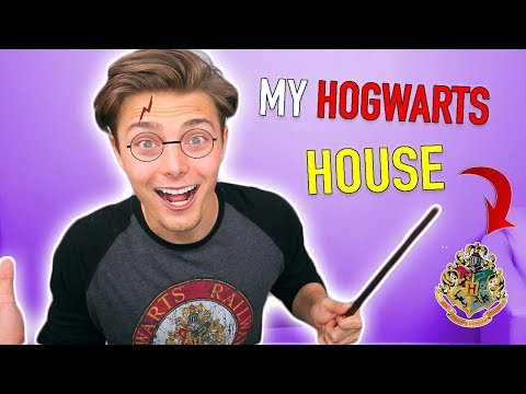 FINDING OUT MY HOGWARTS HOUSE | Harry Potter Challenge