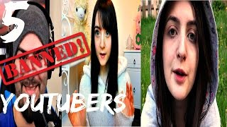 5 Banned YouTubers You Can