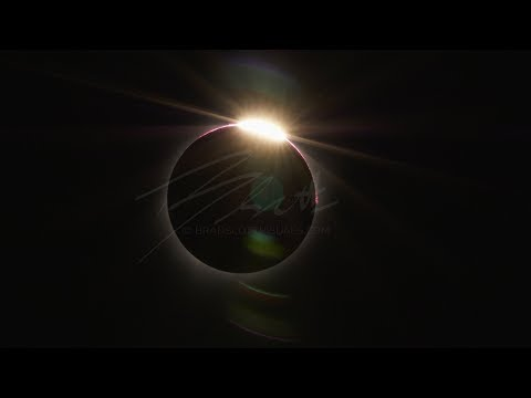 2017 Solar Eclipse Totality from Lincoln City OR 4K Footage