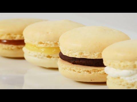 French Macarons Recipe Demonstration - Joyofbaking.com