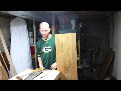 How to rip a board with hand tools no table saw