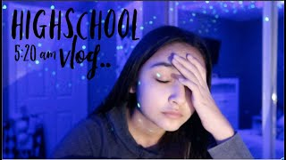 my 5:20 am high school vlog for 2020! (back to school)