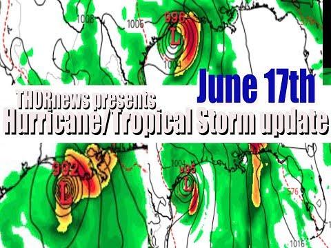 June 17th Landfalling Hurricane/Tropical Storm update: Plan & Prepare Now.