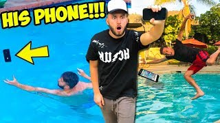 CATCH YOUR PHONE CHALLENGE!!! (we did this for 2 years)