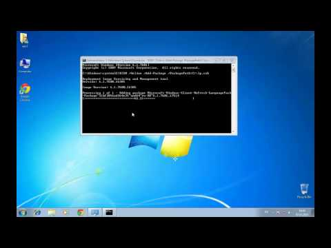 How to change Windows language in Windows 7 Professional