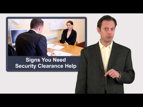 Signs You Need Security Clearance Help
