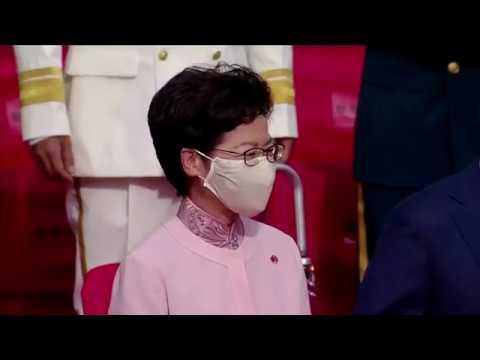 Hong Kong marks handover anniversary as new law takes effect