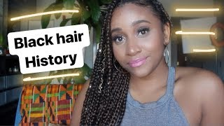 Black Hair History with As I Am Naturally #CurlyHairTutorial